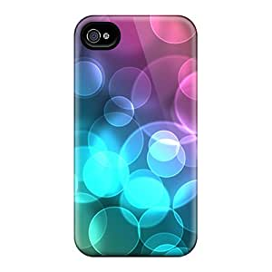 Sanp On Case Cover Protector For Iphone 4/4s (bokeh)