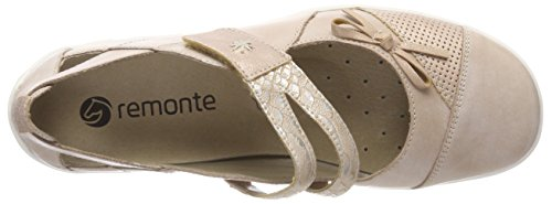 Remonte Women's R3428 Closed Toe Ballet Flats, Altrosa/Rose/Ginger/31 Pink (Altrosa/Rose/Ginger 31)
