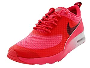nike womens air max thea running shoe red logo