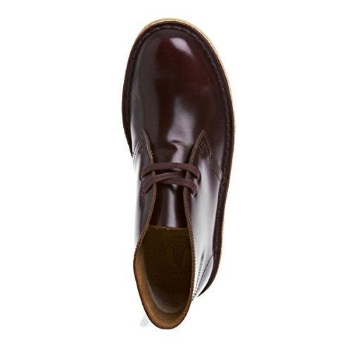Zapatos Clarks borgoña