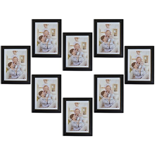 black 5x7 picture frames - 9