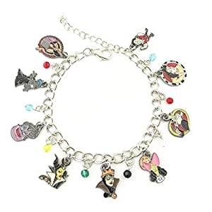 TV Movies Show Charm Bracelet – Valentines Merchandise Costume Horror Jewelry Gifts for Women