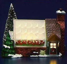Dept 56 Original Snow Village Greenhouse 5402-0 Retired (56 Snow Original)