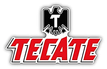 Amazon.com: Tecate Beer American Drink Car Bumper Sticker Decal 5 ...