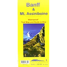 Banff & Mt. Assiniboine Waterproof Trail Map and Guide