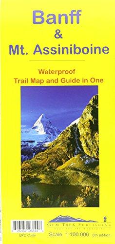 Banff & Mt. Assiniboine : Waterproof Trail Map & Guide