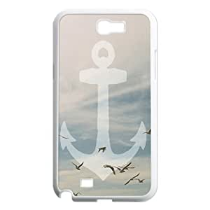 Sailor Anchor Original New Print DIY Phone Case for Samsung Galaxy Note 2 N7100,personalized case cover ygtg574423