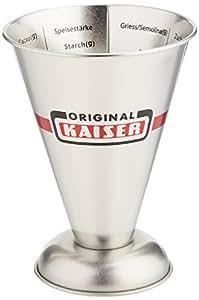 Kaiser 769080 Measuring Cup 16.9 Oz, Silver