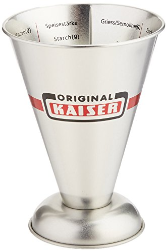 Kaiser 769080 Measuring Cup 16.9 Oz, Silver