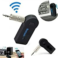 Fedus v4.1 Car Bluetooth Device with Audio Receiver, Transmitter, 3.5mm Connector, MP3 Player (Black)