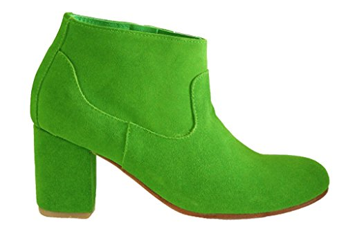 Leather Ankle 44 HGilliane 33 EU Model Killiam Suede Green Boots and to Design 11sunshop qFxTR7ET