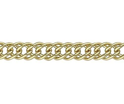 Or 18carats Jaune français 2Gourmette 19,1cm/Bracelet 19cm