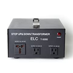 ELC series of step up/down voltage transformers offers you a safe, reliable, affordable & convenient solution to converting voltages from 110-120 volt up to 220-240 volt or from 220-240 volt down to 110-120 volt for both home use & in...