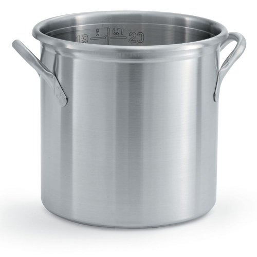 Vollrath 77610 Stainless Steel Stock Pot, 20 Quart