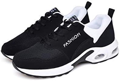 エアクッション ウォーキングシューズ レディース メッシュ メンズ カジュアルシューズ ランニング ウォーキング ジョギング レースアップ 低反発 衝撃吸収 屈曲性 靴ひも 厚底 ローカット スポーツシューズ
