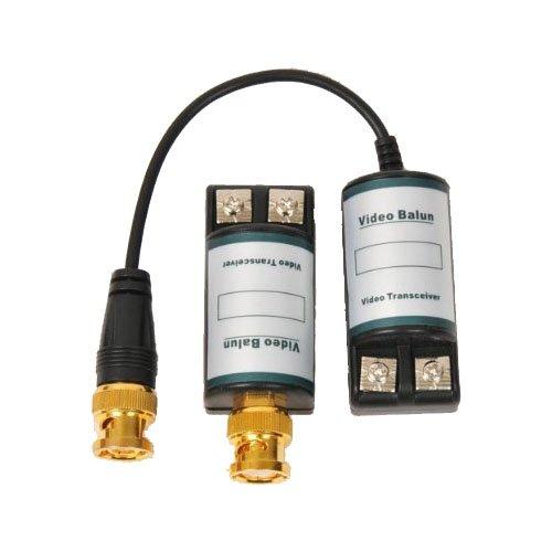 Video Audio Power Balun UTP Network Transceiver - 5