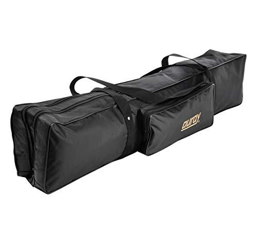 Auray MSB-6 Microphone/Speaker Stand Bag with Pouch (For Bag Stands Microphone)
