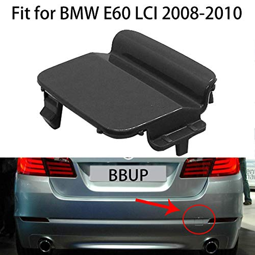 Rear Bumper Tow Hook Cover Towing Eye Cover for BMW 5 Series E60 LCI 2008-2010 51127178183