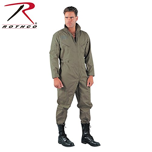 Rothco Flight Coverall, Foliage Green, X-Large by Rothco