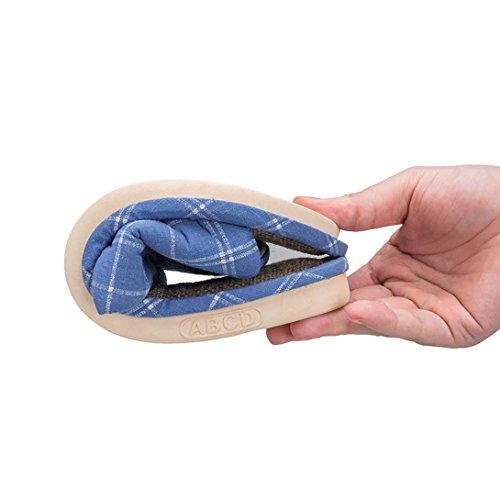 Bleu Pantoufles de d'été Sueur à Femmes Hommes Silencieuse la de Femmes Vdual Lin Chaussures Chaussons Sandales wZxAn0Tq