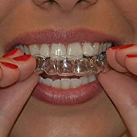 LACKINGONE 8X Teeth Whitening Mouth Trays Gum Shields Bleaching Use Only 10 Seconds