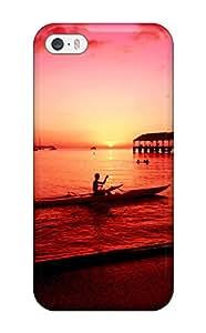 Iphone 5/5s Cover Case - Eco-friendly Packaging(hanalei Kayaker Hawaii)