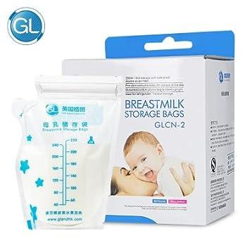 Amazon.com: 96 bolsas desechables para congelador de leche ...