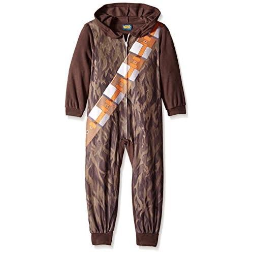 Star Wars Little Boys' Chewbacca Hooded Blanket Sleeper save more