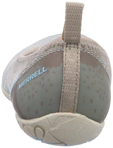 Merrell MIMIX MELD - Bailarinas de cuero para mujer gris - Grau (SIMPLE TAUPE)