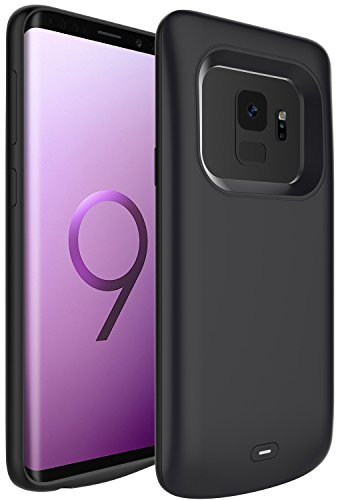 """PEYOU Compatible for Galaxy S9 Battery Case, 4700mAh Slim Rechargeable Extended Backup Charger Pack Power Bank Soft TPU Protective Charging Battery Case Cover Compatible for Samsung Galaxy S9 5.8"""""""