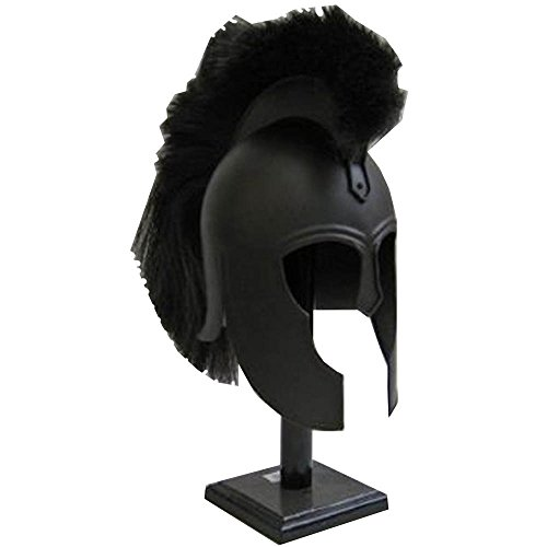 Commander Cody Replica Costume (Replica Trojan Helmet Antiqued Bronze Finish with Black Plume)