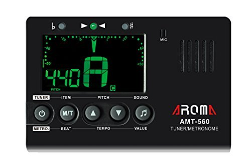Aroma AMT-560 3IN1 Tuner/Metronome for Chronmatic/Guitar/Bass/Violin/Ukulele