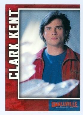 Smallville trading card 2007 Inkworks Season Five #2 Clark Kent Superman Tom Welling