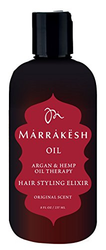 Marrakesh Marrakesh Oil Hair Styling Elixir, 8 Ounce ()