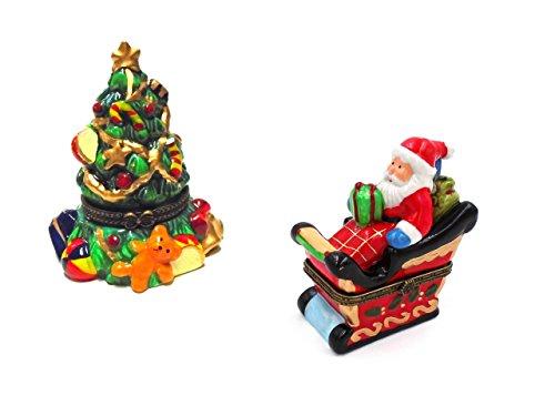 Box Hinged Santa (