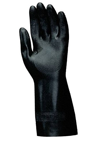 MAPA 420307 Technic Flock-Lined Neoprene Gloves - Size 7