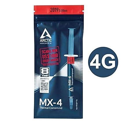 MX-4 4g Ebamax Arctic MX-4 2g 4g 8g 20g Processor CPU Cooler Cooling Fan Thermal Grease Heatsink Paste