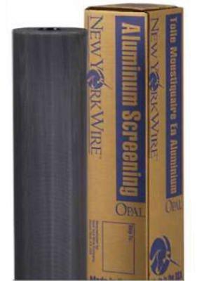 (SAINT GOBAIN ADFORS FCS9439-M Charcoal Aluminum Screen, 48