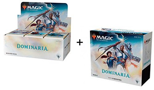 Magic Dominaria Combo: Booster Box + Bundle MTG Card Game