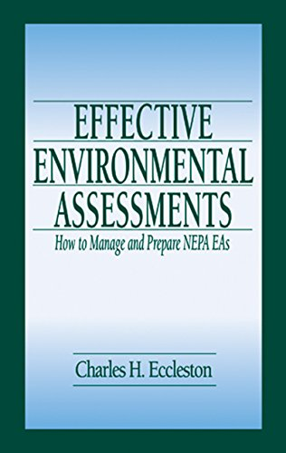 Effective Environmental Assessments: How to Manage and Prepare NEPA EAs Pdf