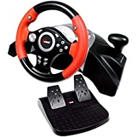5 in 1 Speed Racing Steering Wheel duol shock PC USB Gamepad console for PS2 for PS3 for XBOX one for XBOX360