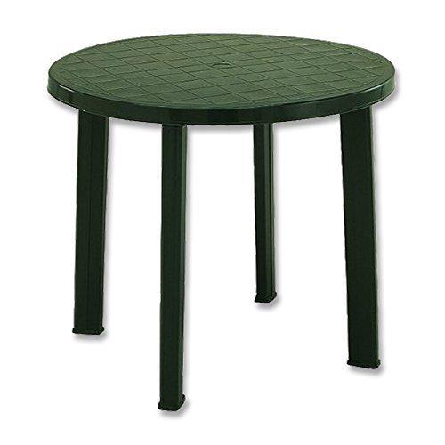 Fun Star Tondo Plastic Table 90 cm Green