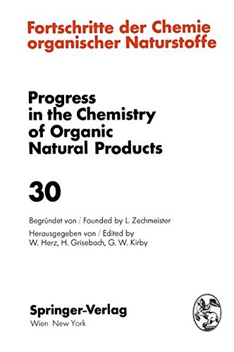 Fortschritte der Chemie Organischer Naturstoffe / Progress in the Chemistry of Organic Natural Products (German and English Edition)