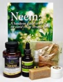 Neem Flu Defense Special! All About Neem High Potency Caps 1500 Mg, Neem Oil Hand Soaps, All Natural Plant Based Extra Strength Neem Alcohol Hand Sanitizer 1 oz - Travel MIsters for School Work Play.