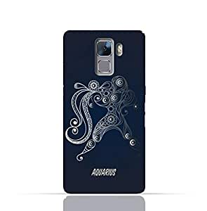 Huawei Honor 7 TPU Silicone Case with Zodiac Sign Aquarius Design