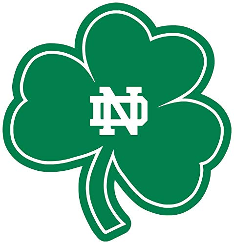Crazy Discount Notre Dame Fighting Irish NCAA Vinyl Sticker Decal Outside Inside Using for Laptops Water Bottles Cars Trucks Bumpers Walls, 11