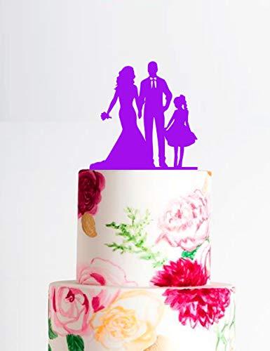Custom Cake Topper Family Silhouette Cake Topper Wedding Cake Topper Wedding Topper Groom With Rolled Sleeves Silhouette Topper Silhouette W