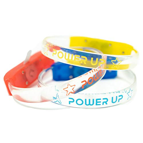 The reThink Group Sound Activated LED Bracelets - Set of 12 - Power Up VBS by Orange