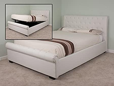 Awesome Snuggle Beds Eleanor Ivory 5 King Size Ivory Ottoman Bed Pdpeps Interior Chair Design Pdpepsorg