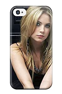 Durable Defender Case For Iphone 4/4s Tpu Cover(ashley Benson)
